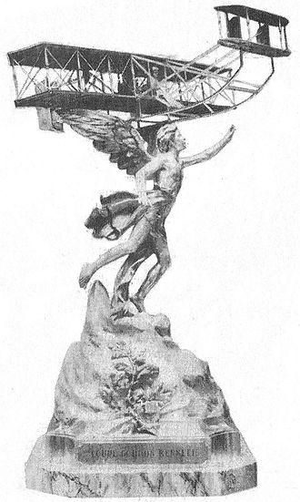 Gordon Bennett Trophy (aeroplanes) - Image: La coupe Gordon Benett