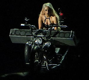 "Hair (Lady Gaga song) - Lady Gaga performing ""Hair"" on her Born This Way Ball Tour, which followed her response to criticism by congressman Benny Abante and others in the Philippines."
