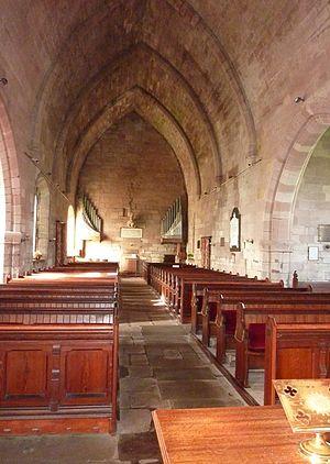 Ladykirk, Scottish Borders - Nave of Ladykirk Church