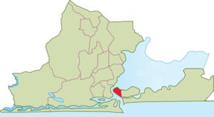 Lagos Island - Image: Lagos Island Map