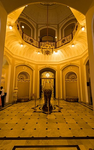 Lalitha Mahal - Image: Lalitha Mahal Palace , Mysore The Entrance Reception Area