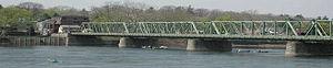 Lambertville, New Jersey - The New Hope-Lambertville Toll Supported Bridge