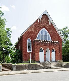 Lancaster Presbyterian Church United States historic place