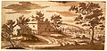 Landscape with Buildings and a Town in the Distance (recto); Study of a Building (verso) MET DR311.jpg
