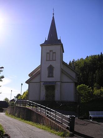 Haldor Børve - Langangen Church, built 1891