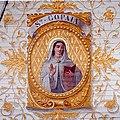 Langoat; Koupaia; dessin en plafond de l'église.jpg