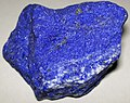 Lapis lazuli (lazuritic metamorphite) (Sar-e-Sang Deposit, Sakhi Formation, Precambrian, 2.4-2.7 Ga (?); Sar-e-Sang Mining District, Hindu-Kush Mountains, Afghanistan) 5 (32696807747).jpg