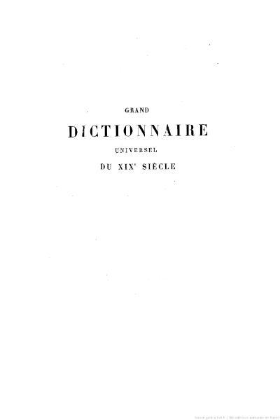 File:Larousse - Grand dictionnaire universel du XIXe siècle - Tome 14, part. 1, S-Scip.djvu