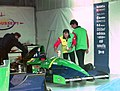 Larrousse pit box 1994 Silverstone.jpg