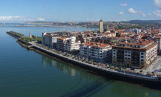Getxo Municipality in Basque Country, Spain
