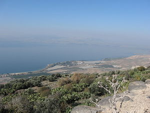 Water conflict in the Middle East and North Africa -  Lake Tiberias