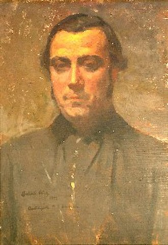 Antonio Alice - Portrait of the priest and politician, Benjamín Lavaisse (ca. 1920)