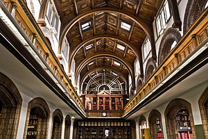 Leeds Central Library - The lending library