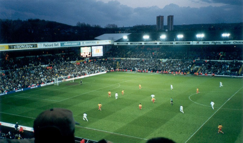 Leeds United-Galatasaray match in 20 April 2000