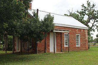 Leesville, Texas - Leesville school house