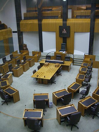 Northern Territory Legislative Assembly - Chamber of the Northern Territory Legislative Assembly