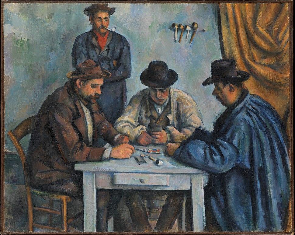 Les Joueurs de cartes, par Paul Cézanne, Metropolitan Museum of Art