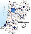 Les emplois du B.TP par aires urbaines d'Aquitaine en 2008.jpg