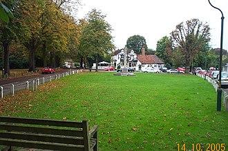 Aldenham - Letchmore Heath green