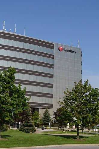 LexisNexis - LexisNexis office in Markham, a suburb of Toronto, Ontario, Canada