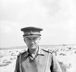 Nigel Poett - Poett served under Lieutenant General William Gott in India during the 1930s.