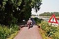 Ligfietsen langs het Afwateringskanaal bij Steendam (27582995358).jpg
