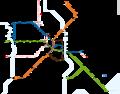 Ligne 2 du tramway de Montpellier.png