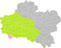 Ligny-le-Ribault (Loiret) dans son Arrondissement.png