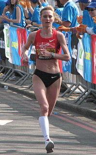 Liliya Shobukhova Russian marathon runner