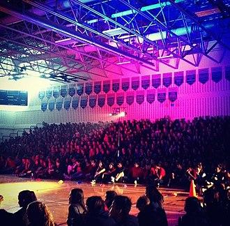 Lillian Osborne High School - Lillian Osborne Pep Rally 2014