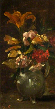 Lilly and Gillyflower by Courbet 1863 Burrell Coll.png