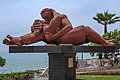 Lima's Pacific coastline…the Lovers (8443272803).jpg