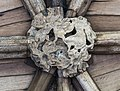 Lincoln Cathedral S. Cloisters, 24th boss from E. (39670556774).jpg