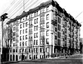 Lincoln Hotel, northwest corner of Madison St and 4th Ave, Seattle (CURTIS 1444).jpeg