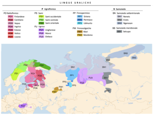 Linguistic map of the Uralic languages (it).png