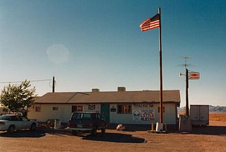 Rachel, Nevada - A view of the Little A'Le'Inn