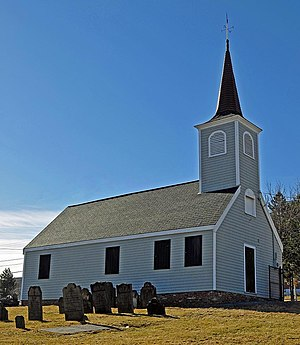 German Canadians - Little Dutch (Deutsch) Church - oldest German church in Canada (1756), Halifax, Nova Scotia