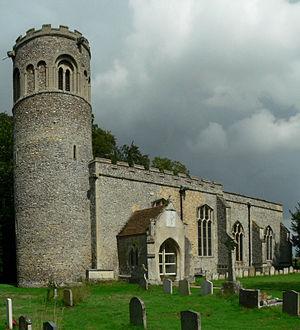 Little Saxham - Little Saxham St Nicholas