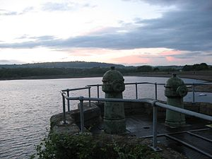 Llanishen Reservoir - Many original features are still intact.