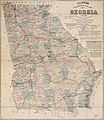 Lloyd's topographical map of Georgia from state surveys before the war showing railways, stations, villages, mills, etc. LOC 2015591050.jpg
