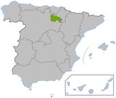 La Rioja en España