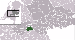 Beneden-Leeuwen - Image: Locatie West Maas En Waal