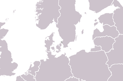 Location of Ladonia (micronation)