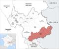Locator map of Kanton Modane 2019.png