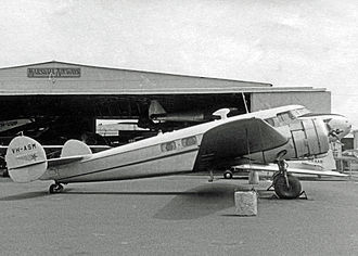 Lockheed Model 10 Electra - Lockheed 10B of Marshall Airways (Australia) in 1970, had been initially delivered to Ansett Airways in 1937