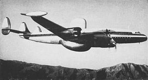 Lockheed WV prototype in flight 1952.jpg