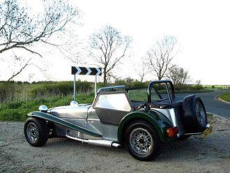 Locust (car) - Completed Locust.