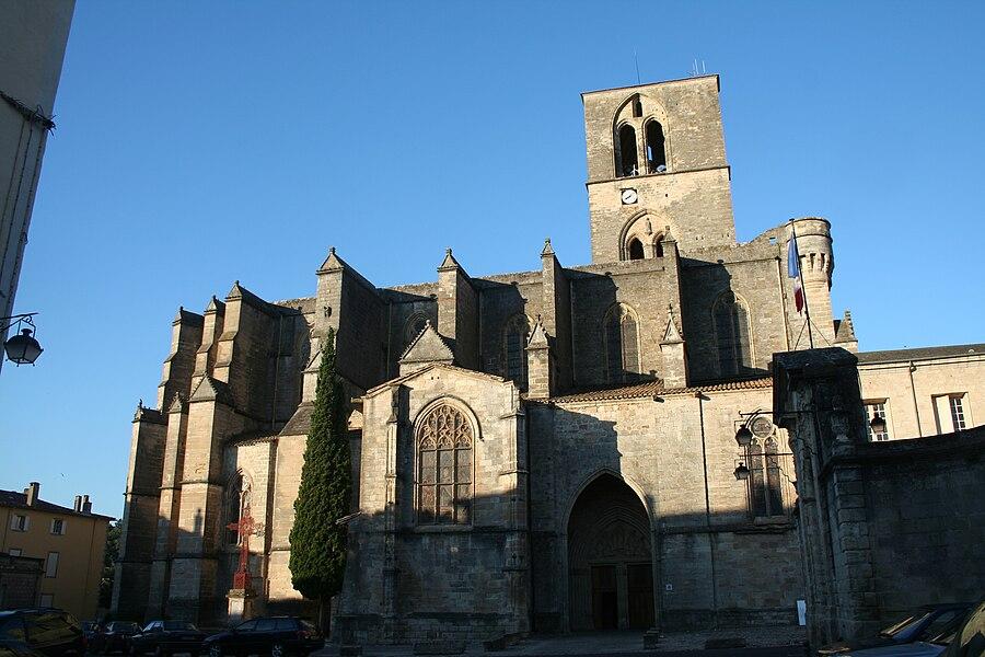 Lodève (Hérault) - cathédrale Saint-Fulcran.