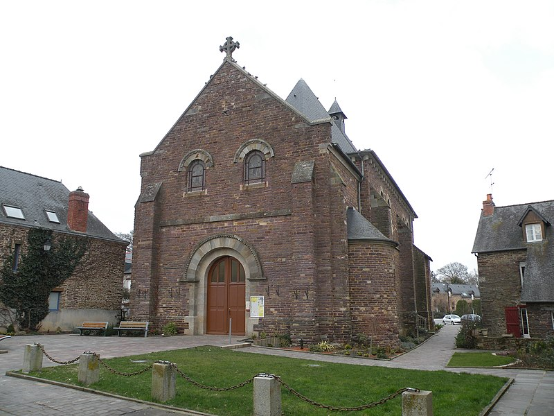 Church of Lohéac.
