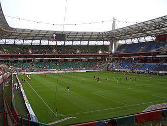 RZD Arena - Lokomotiv Stadium, before the game